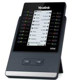 Teclado de expansión Yealink EXP40